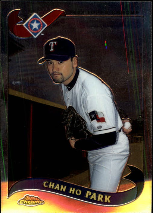 2002 Topps Chrome Traded #T48 Chan Ho Park