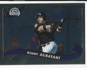 2002 Topps Chrome Traded #T49 Benny Agbayani