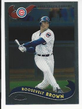 2002 Topps Chrome Traded #T57 Roosevelt Brown