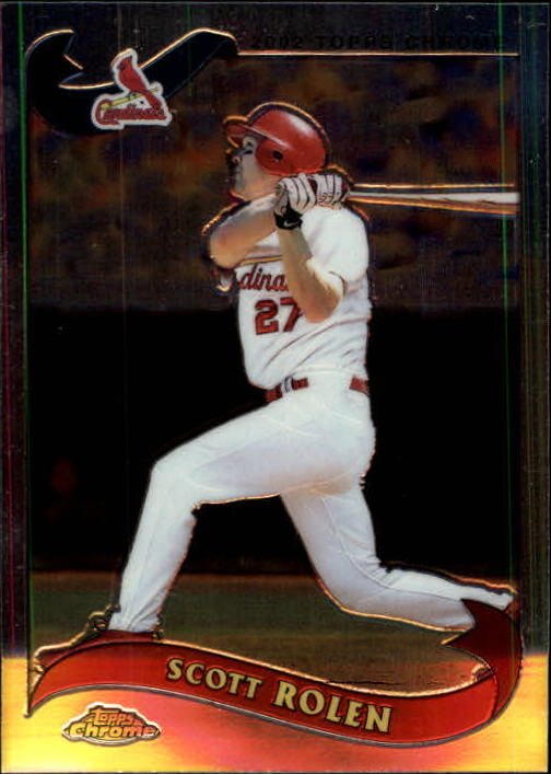 2002 Topps Chrome Traded #T72 Scott Rolen