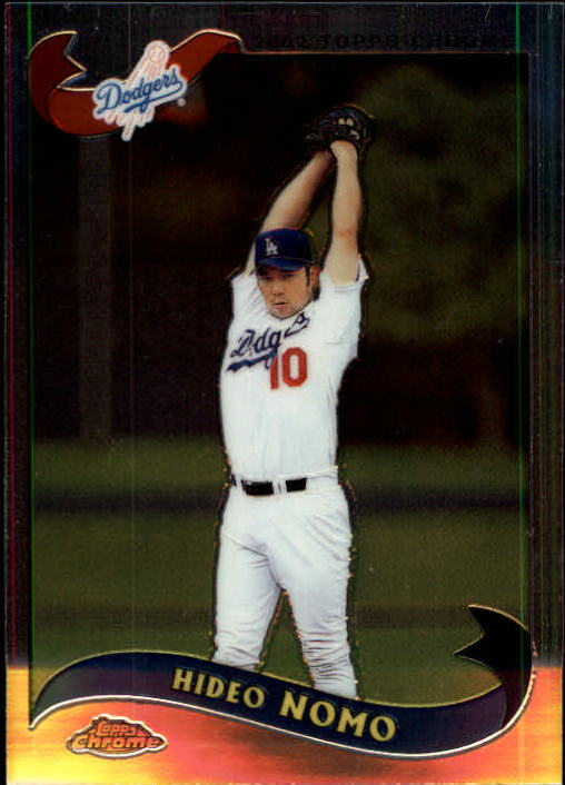 2002 Topps Chrome Traded #T76 Hideo Nomo