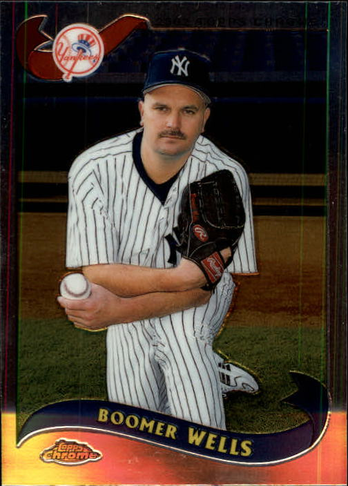 2002 Topps Chrome Traded #T80 David Wells