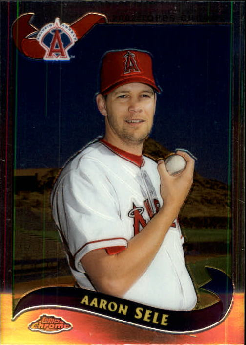 2002 Topps Chrome Traded #T81 Aaron Sele