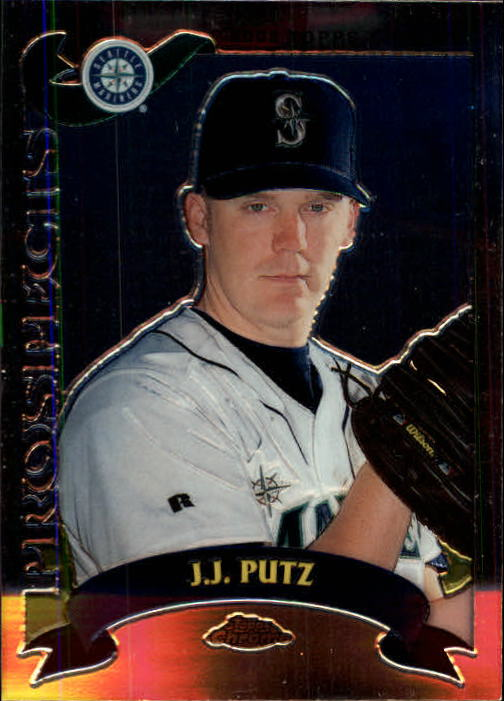 2002 Topps Chrome Traded #T137 J.J. Putz RC