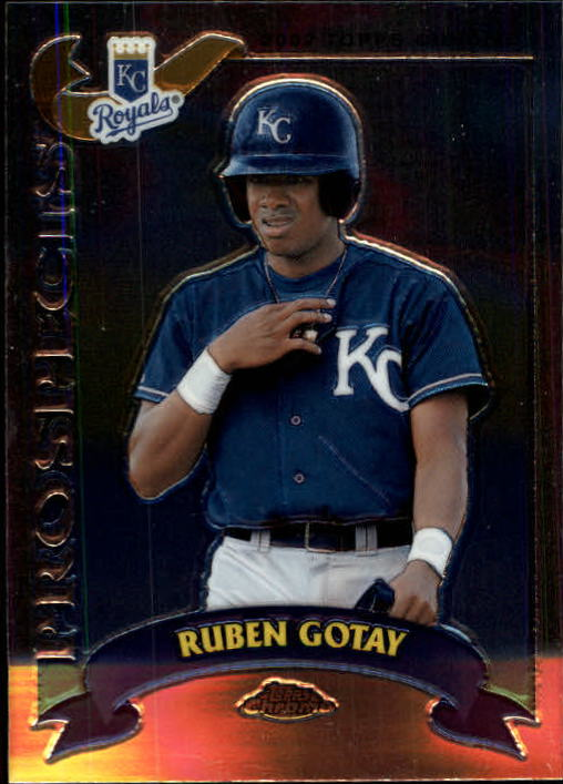 2002 Topps Chrome Traded #T138 Ruben Gotay RC