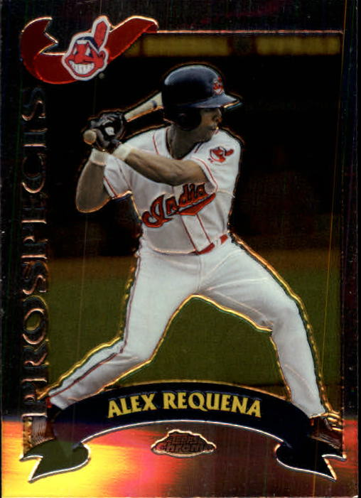 2002 Topps Chrome Traded #T206 Alex Requena RC