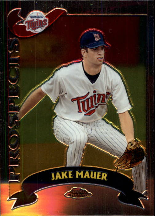 2002 Topps Chrome Traded #T252 Jake Mauer RC