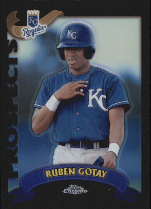 2002 Topps Chrome Traded Black Refractors #T138 Ruben Gotay