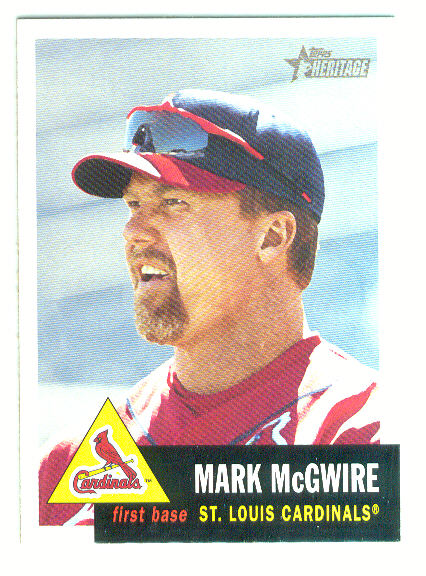 2002 Topps Heritage #36 Mark McGwire