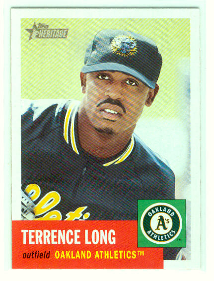 2002 Topps Heritage #394 Terrence Long SP