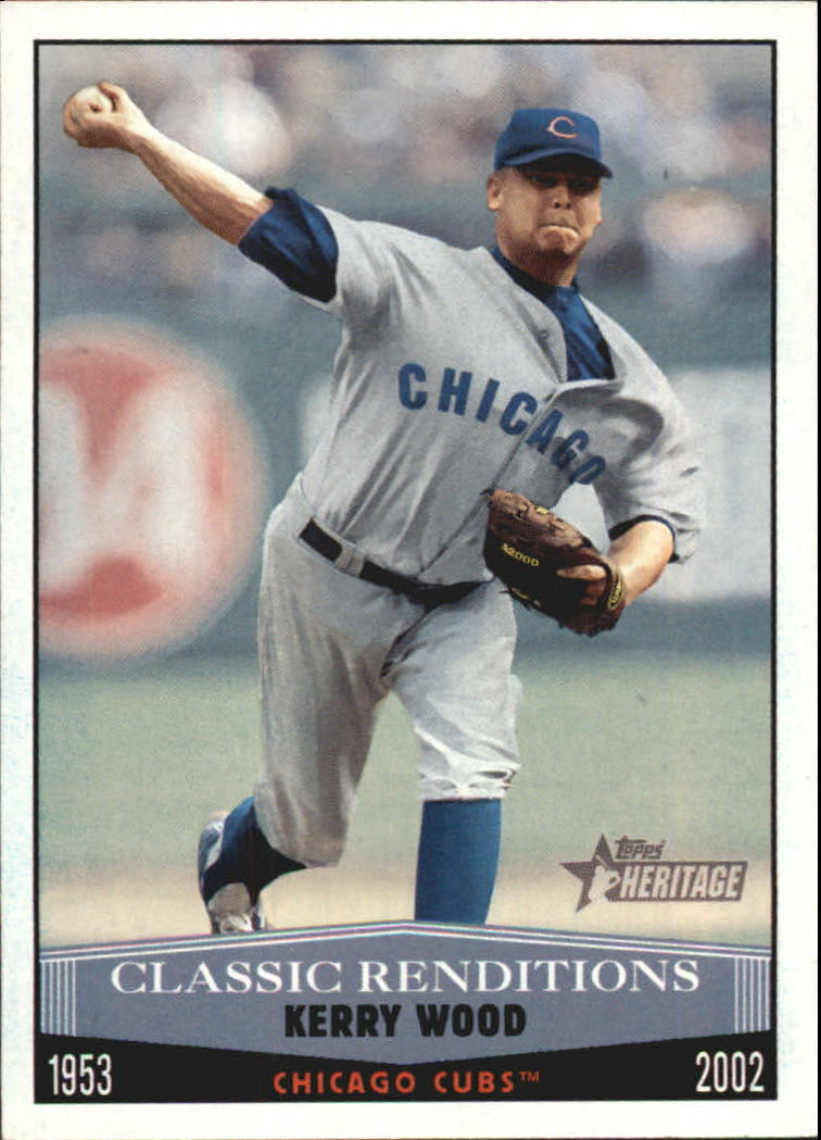 2002 Topps Heritage Classic Renditions #CR1 Kerry Wood