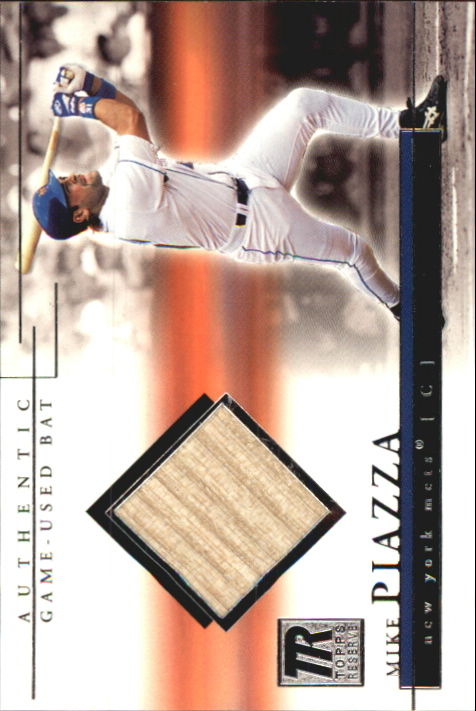 2002 Topps Reserve Bat Relics #MP Mike Piazza H