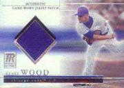 2002 Topps Reserve Patch Relics #KW Kerry Wood
