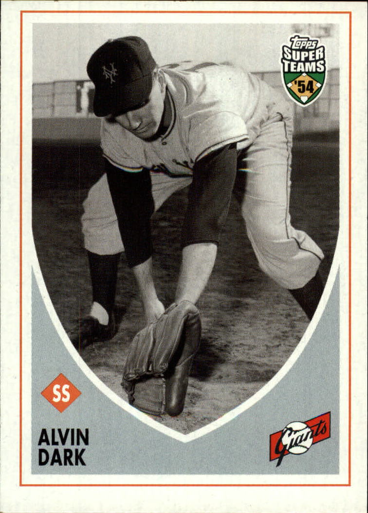2002 Topps Super Teams #3 Alvin Dark