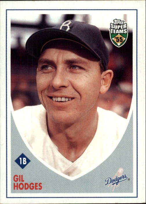 2002 Topps Super Teams #16 Gil Hodges