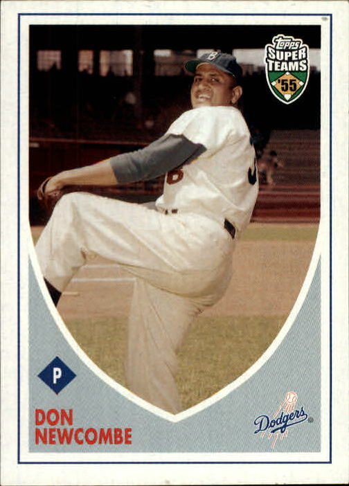 2002 Topps Super Teams #23 Don Newcombe front image