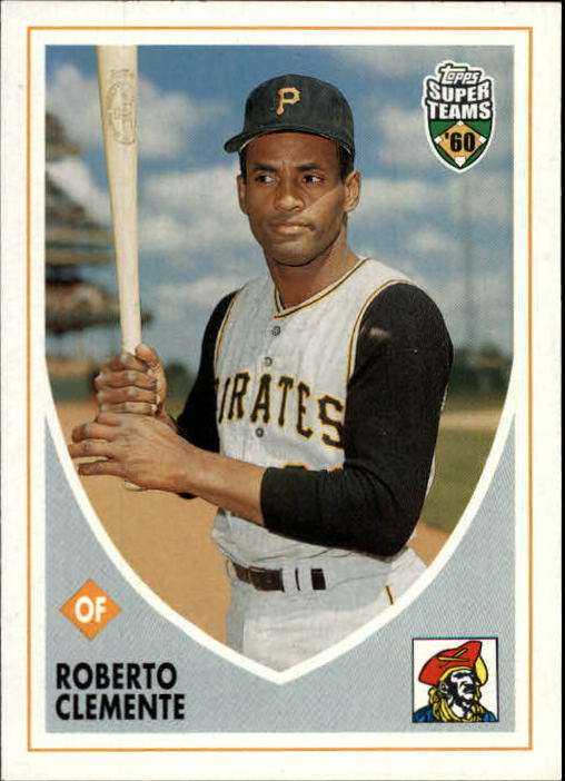 2002 Topps Super Teams #50 Roberto Clemente