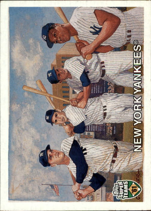 2002 Topps Super Teams #71 Berra/Maris/Howard/Moose