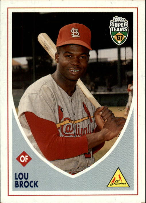 2002 Topps Super Teams #77 Lou Brock