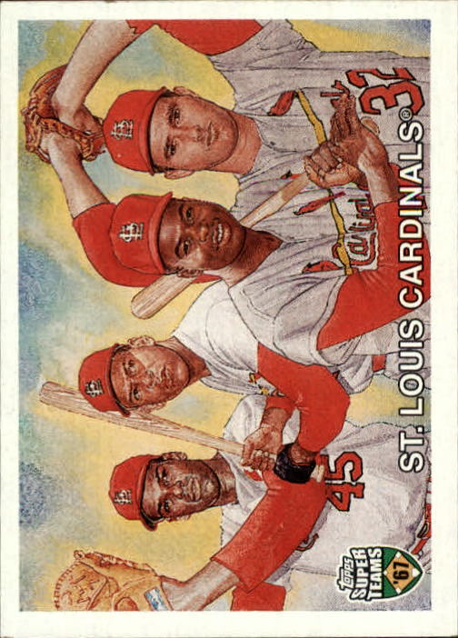 2002 Topps Super Teams #86 Gibson/Carlton/Cepeda/Brock