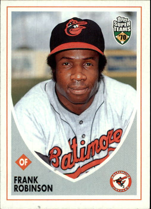 2002 Topps Super Teams #109 Frank Robinson