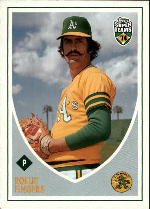 2002 Topps Super Teams #127 Rollie Fingers