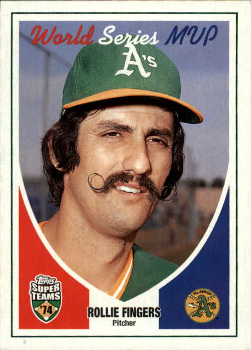 2002 Topps Super Teams #130 Rollie Fingers