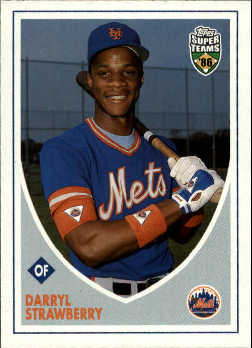 2002 Topps Super Teams #138 Darryl Strawberry