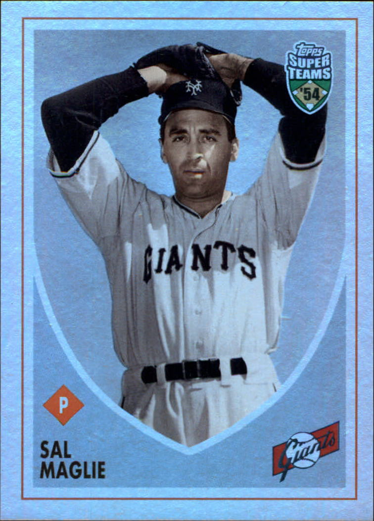 2002 Topps Super Teams Retrofractors #8 Sal Maglie