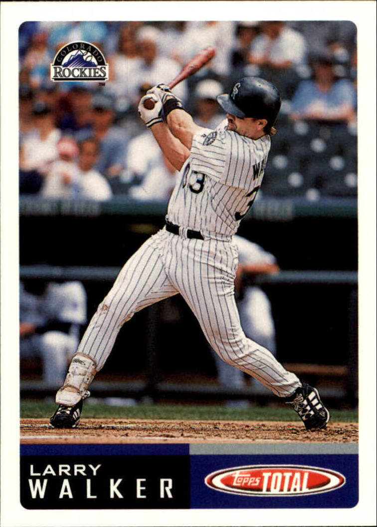 2002 Topps Total #33 Larry Walker