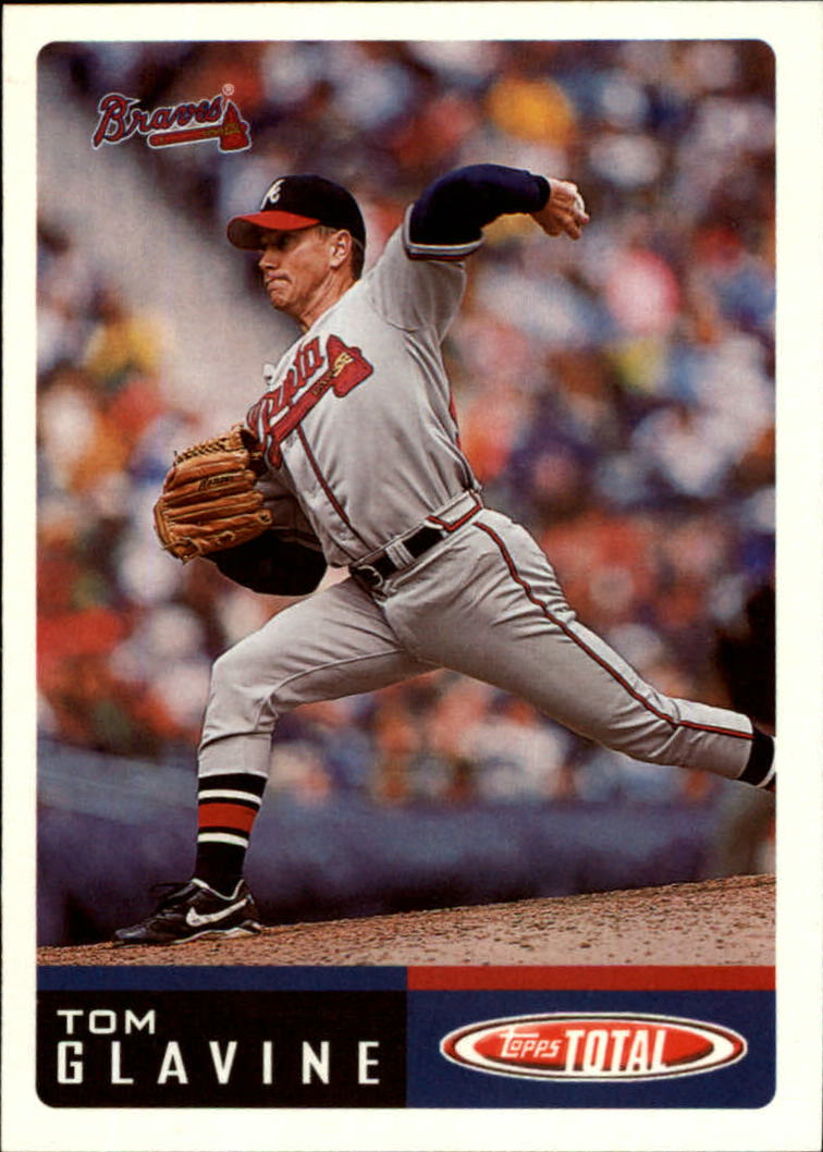 2002 Topps Total #37 Tom Glavine