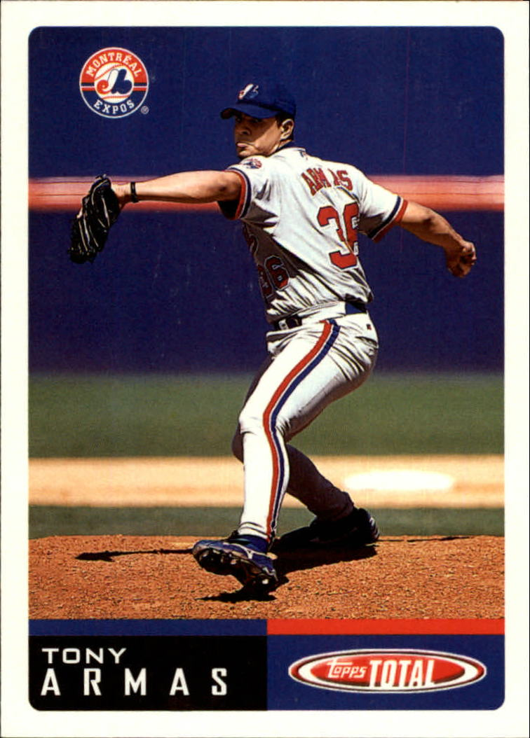2002 Topps Total #41 Tony Armas Jr.