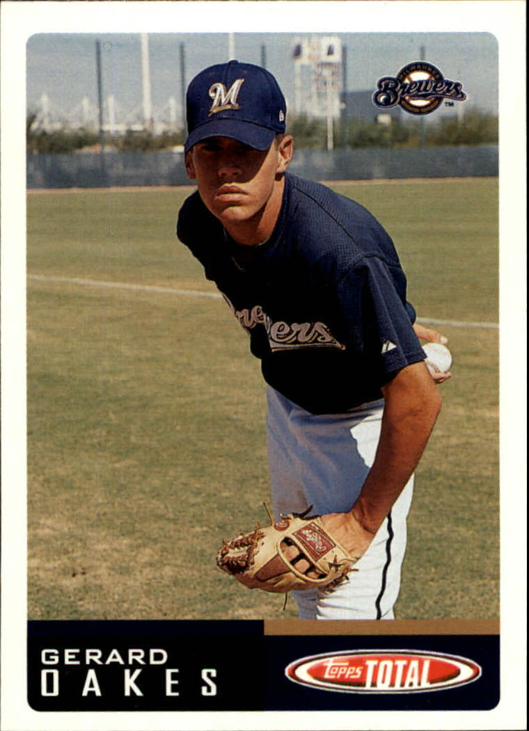2002 Topps Total #43 Gerard Oakes RC