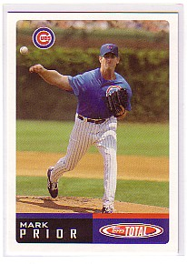 2002 Topps Total #60 Mark Prior