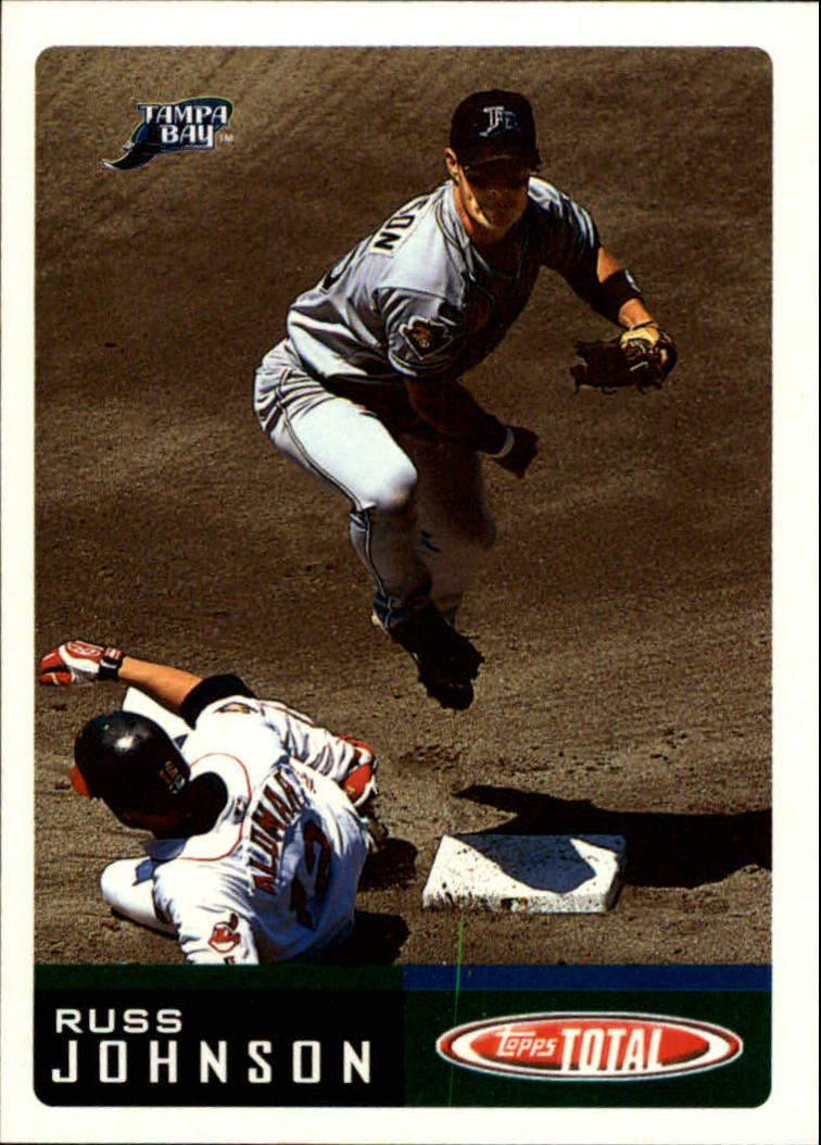 2002 Topps Total #67 Russ Johnson