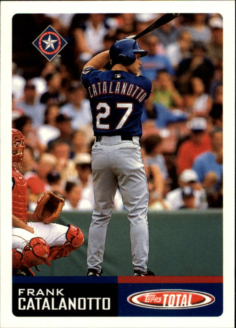 2002 Topps Total #76 Frank Catalanotto