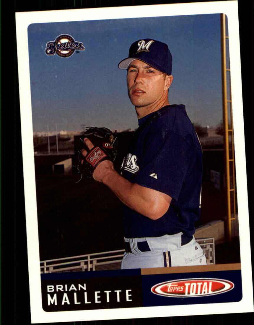 2002 Topps Total #96 Brian Mallette RC
