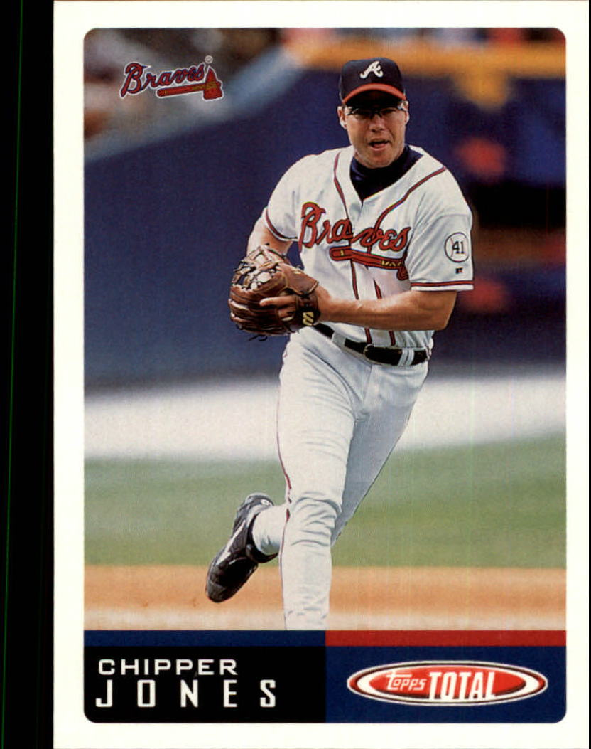 2002 Topps Total #100 Chipper Jones