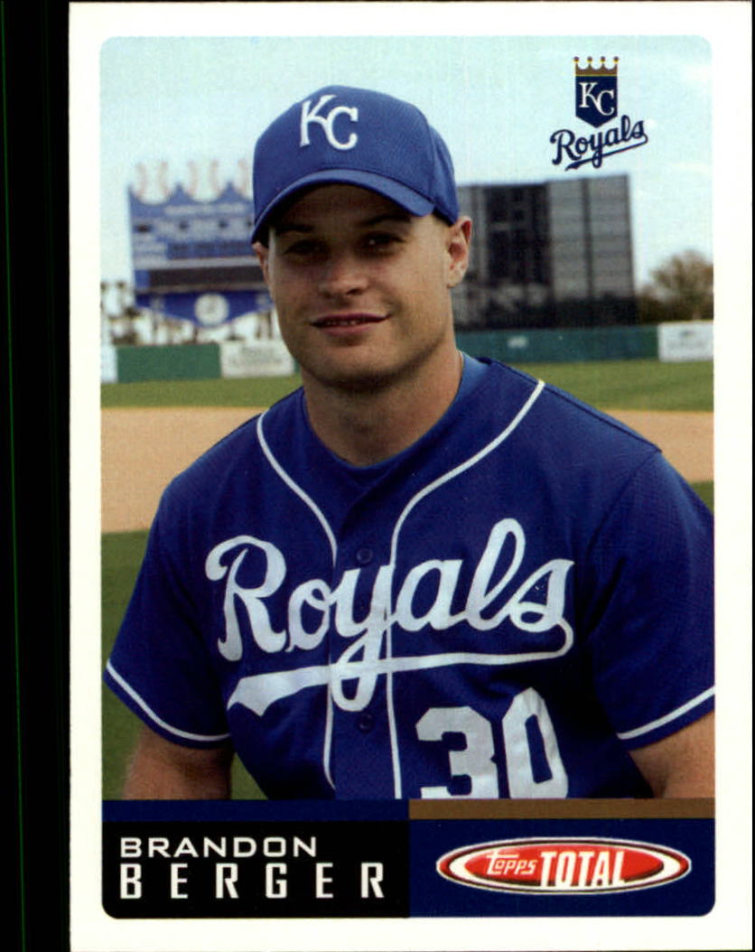 2002 Topps Total #103 Brandon Berger
