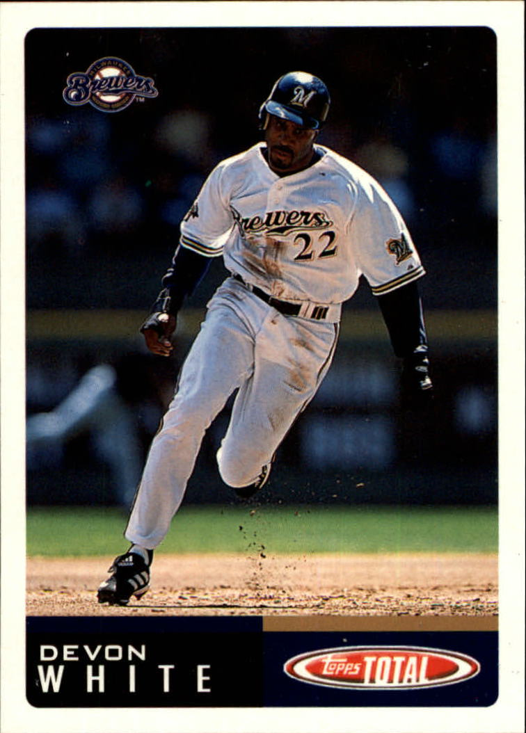 2002 Topps Total #108 Devon White