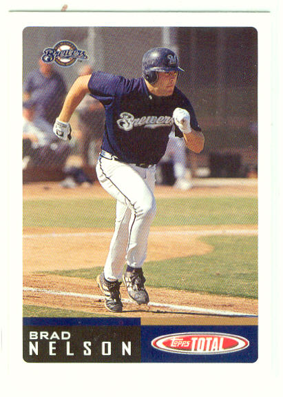 2002 Topps Total #122 Brad Nelson RC