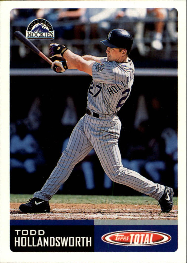 2002 Topps Total #140 Todd Hollandsworth