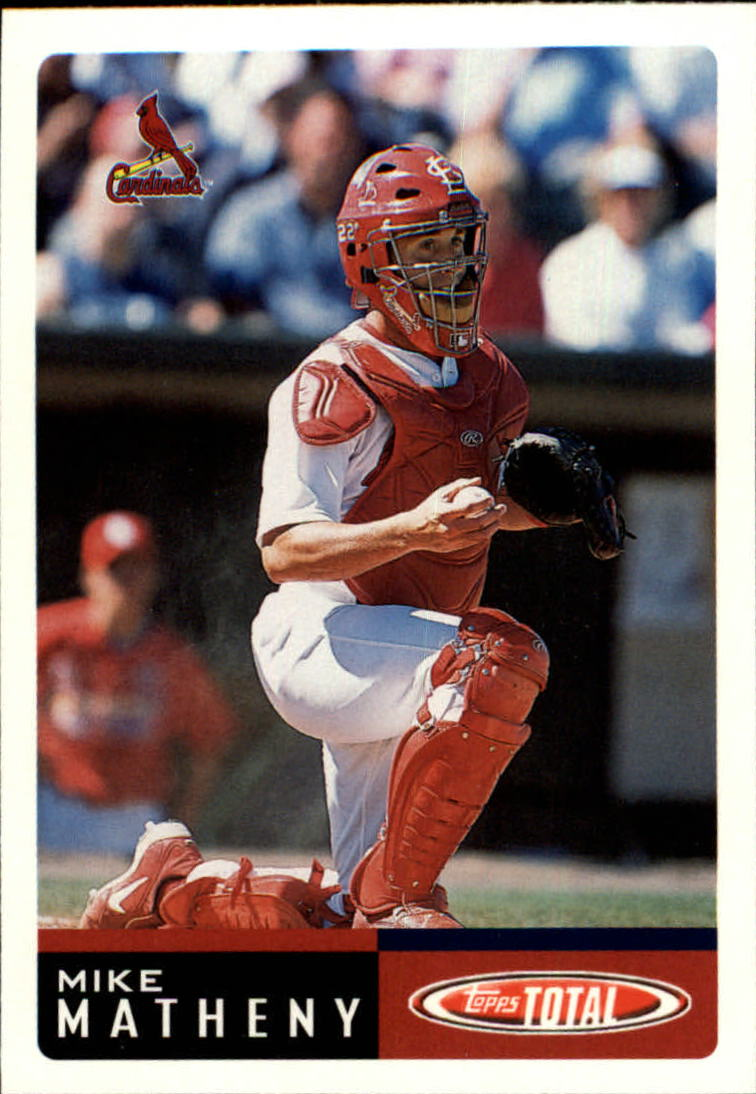 2002 Topps Total #166 Mike Matheny