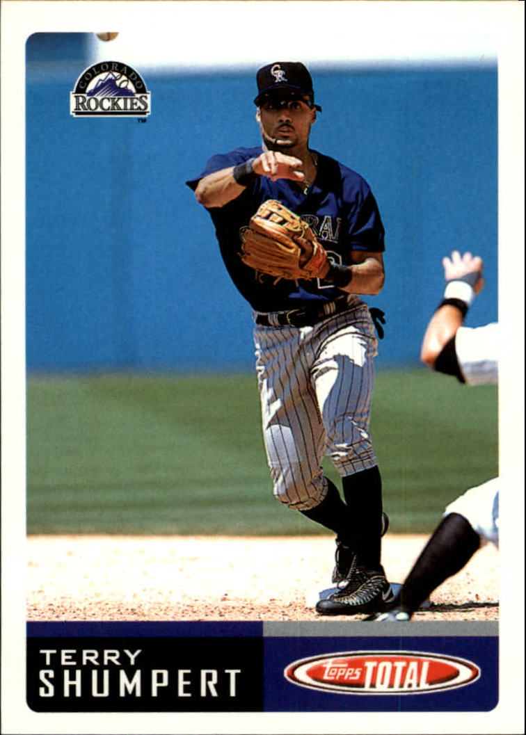 2002 Topps Total #204 Terry Shumpert