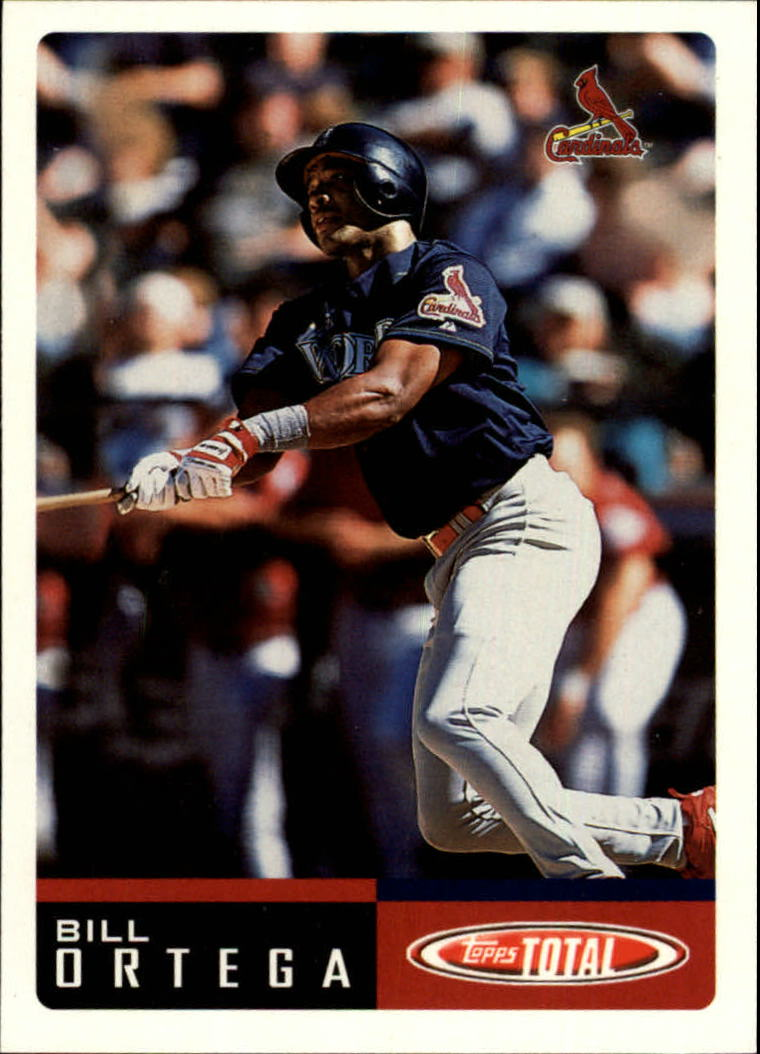 2002 Topps Total #209 Bill Ortega