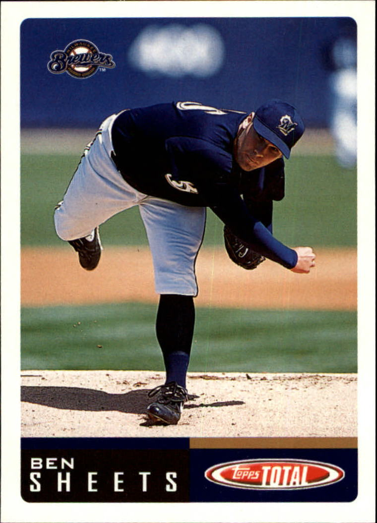 2002 Topps Total #327 Ben Sheets