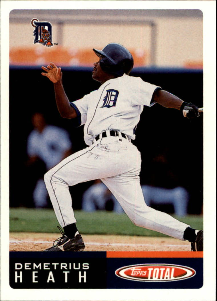 2002 Topps Total #412 Demetrius Heath RC