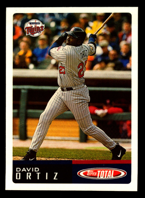2002 Topps Total #472 David Ortiz