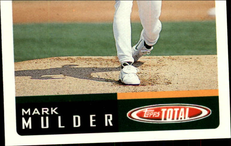 2002 Topps Total #540 Mark Mulder