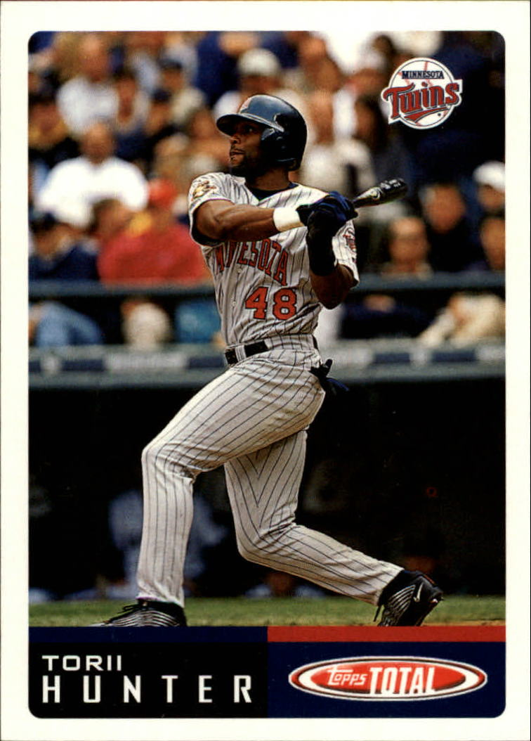 2002 Topps Total #598 Torii Hunter